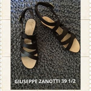 Authentic Dark Brown Giuseppe Zanotti Sandal